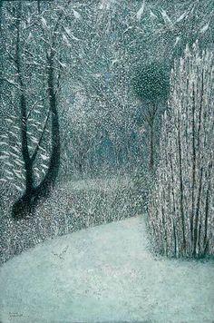 The Garden in Winter by Richard Cartwright - L'Assommoir