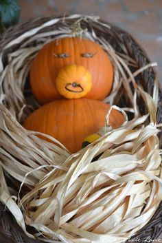 "Precious ""Baby"" for a Fall Baby Shower from the blog Three Pixie Lane: A Little Punkin'"