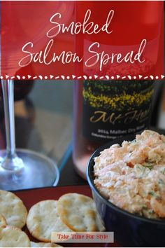 Our smoked salmon spread is the perfect appetizer for any gathering. It's a very easy recipe and the yummiest dip ever! #diprecipes #salmon