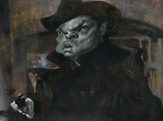 THIRD MAN Acrylic on Canvas by Jota Leal