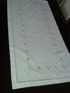 Hardanger embroidery.