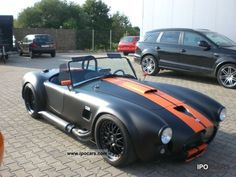 dax cobra - Matt black/orange