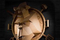 Дурилки картонные: крафтовые скульптуры Бориса Климова