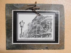 New Orleans Wall Hangings Pair Vintage by MADMrs on Etsy, $15.99