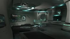 spaceship living quarters - Google Search