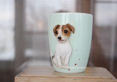 Кружка собака Джек рассел терьер – купить в интернет-магазине на Ярмарке Мастеров с доставкой