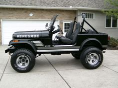 Jeep CJ7 - was my dream in high school.
