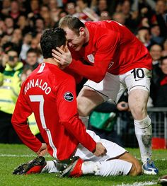 Ronaldo is gunning to win Euro 2016 with Portugal but thinks Wayne Rooney can propel England to glory Wayne Rooney, Soccer Players, Cristiano Ronaldo, Manchester United, Squad, Portugal, The Unit, Football, Baseball Cards