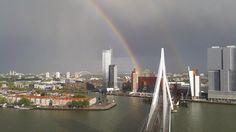 Rotterdam skyline The Netherlands Holland