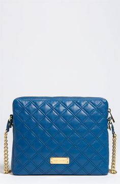 MARC JACOBS - 'Quilting' Lambskin leather iPad Case