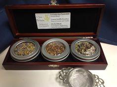 Such a unique gift - our tea sampler in a pretty keepsake box.