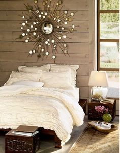 I love the mix of glam and rustic.