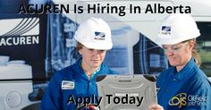 ACUREN Has 33 New Jobs Listed - Apply Today!  Junior Engineers, Engineers, GPR Techs, CGSB Certified UT2, NDE CEDO, HSE Coordinator, MT2, NDE CGSB Radiographers, Guided Wave Techs, Operations Mangers, Payroll Supervisors and More!