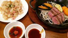 第5のドドーン!  ガーリックライス & ステーキ  #下関 #EBISU #ステーキ #steak