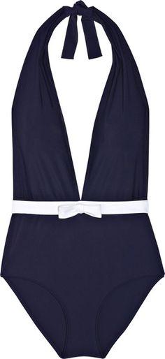 Miu Miu Low-back Halterneck Swimsuit