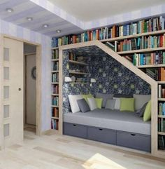 reading & naps  love this for boys room