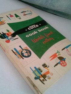 Vintage 1961 Cutco Cutlery Cookbook Easy by whiskeygogogirl #Have this cook book!