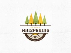 Whispering Pines / Logo by ampersandrew