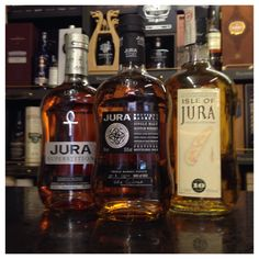 Featured #whiskies Isle of Jura Superstition, Festival 2013. Old style 10 year old