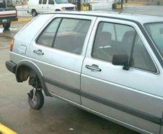 Redneck car show
