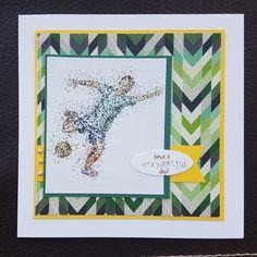 Sporty birthday cards – Inky fingered Cat Men's Cards, Making Cards, Free Paper, Birthday Cards, Vibrant, Sporty, Cat, Boys, Illustration