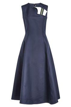 #BFCM #CyberMonday #STYLEBOP.com (FR/NL/IT) - #Calvin Klein 205W39NYC CALVIN KLEIN 205W39NYC A-Line Dress in Cotton and Silk - AdoreWe.com