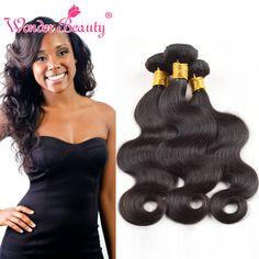 Peruvian Virgin Hair 3 Bundles Peruvian Body Wave Cheap Human Hair Weaves Wonder Beauty 7A Virgin Hair from Wonder Beauty Hair