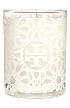 White Tile Print Candle - a pretty hostess gift from @nordstorm #nordstorm