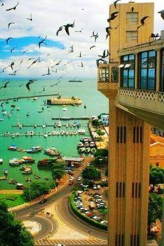 Salvador, Bahia, Brazil - Beach Vacations in Brazil, Architecture Tour in Brazil