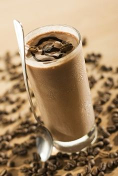 Mocha Iced coffee frappe - My Dukan Diet Shop
