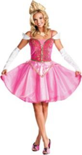 Adult Sassy Aurora Costume Prestige- Disney Princess- Group Costumes- Couples, Group Costumes- Halloween Costumes - Party City