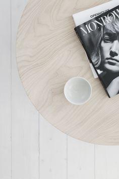Coffee Table Ash www.melostudio.se