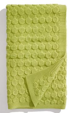 Nordstrom at Home 'Bubble Wrap' Knit Throw available at #Nordstrom