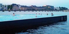Se for a Berlim, não se esqueça de mergulhar na piscina flutuante no meio do rio | Nômades Digitais
