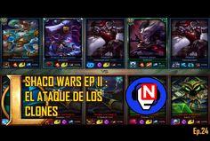 SHACO WARS EP II: EL ATAQUE DE LOS CLONES | parche 6.12 | Ep. 24 - League of Legends en español