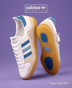 Indoor Comp Spezial part of the AW18 Spezial collection due for launch in  September. 4154f3609