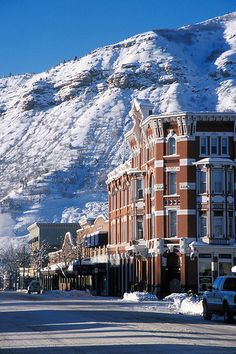 "Durango, Colorado. great little town at the bottom of the "" Million Dollar Highway "" Just and incredible scenic drive .. probably the best! -- click for a sped up drive down the million dollar highway."