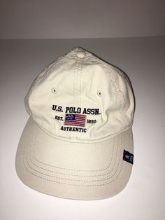 f654cd956a5 Vintage Polo Ralph Lauren Hat Strapback Polo USA Flag Adjustable  fashion   clothing  shoes