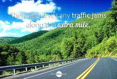 The extra mile can be a lonely road…