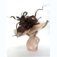 Hazel Kentucky Derby Hat by Vinzetta Millinery at www.ChurchDerbyHats.com 1-855-Hat-Lady  Kentucky Derby Hats