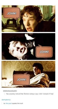 "Vote to make ""John"" an official synonym for ""help"" in the dictionary.<---I'll vote"