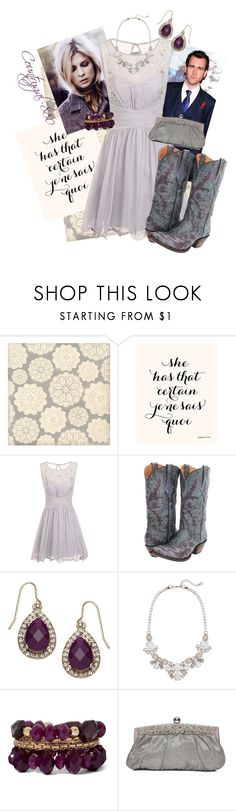 Fleur Yule Ball by countrygal-880 on Polyvore featuring Little Mistress, Lucchese, Accessorize and Neville