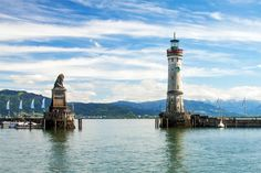 Fietsvakantie rondom de Bodensee - ECKTIV Camping Bodensee, Glamping, Zeppelin, Cn Tower, Statue Of Liberty, Rondom, Building, Travel, Camping Nice
