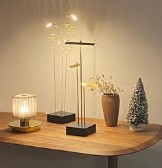 Cordless Table Lamps, Dcw Editions, Led Module, How To Make Light, Light And Shadow, Art Pieces, Candle Holders, Delicate, Candles