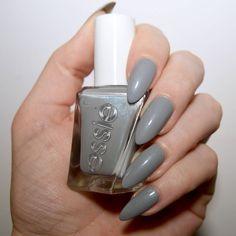 Essie Gel Couture Ballet Nudes Closing Night Essie Gel Couture Review, Essie Gel Couture Swatches, Gray Nails, Pastel Nails, Pretty Nail Art, Nail Manicure, Manicures, Nail Polish, Nail Art Diy