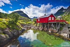 Norway is, by any standards, one of the most beautiful countries on earth, but that beauty brings with it a responsibility that weighs heavily upon Norwegians. Description from luxurytopics.com. I searched for this on bing.com/images