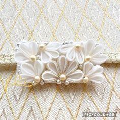 つまみ細工 特別な日の帯留め | ファッション > 和服・和装小物 > 帯小物 | ハンドメイド・手作り作品の通販、販売 tetote(テトテ)