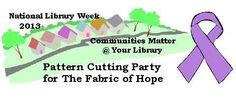 """Join us at Jesse Yancy Memorial Library on Friday, April 12th at Noon to learn about The Fabric of Hope, an organization whose mission is """"to cover nekkid noggins and provide a smile"""". Then lend a hand by helping cut pattern pieces. No sewing skills are required! The Fabric of Hope is a non-profit organization providing free hats to cancer patients. They have delivered hats to numerous locations including local doctor's offices, St. Jude, and Baptist Memorial Hospital - North Mississippi."""