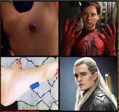 Now I just have to find a radioactive lego. Tolkien Hobbit, O Hobbit, Lotr, Funny Video Memes, Stupid Funny Memes, Lord Of Rings, Hobbit Funny, Legolas And Thranduil, Spiderman