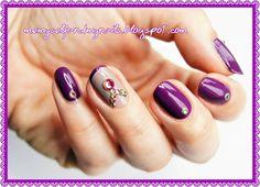 me, myself and my nails: Szampańskie świecidełka